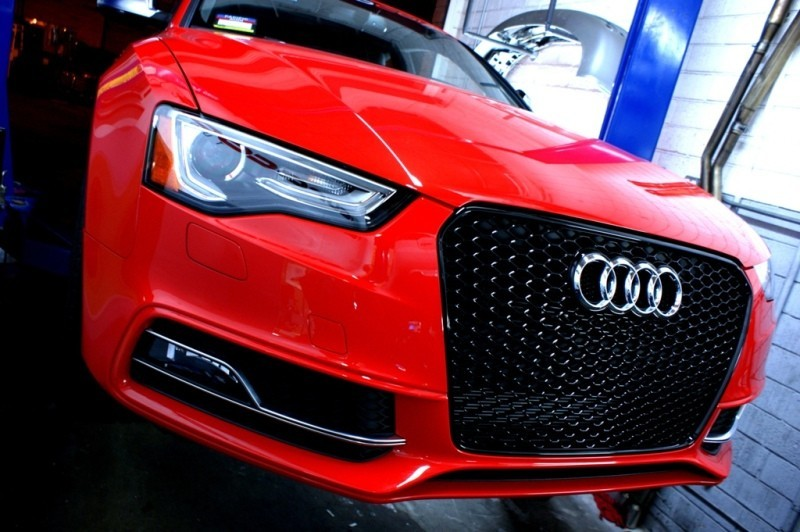 eurocode tuning   oem audi rs5 grills  facelift  s5