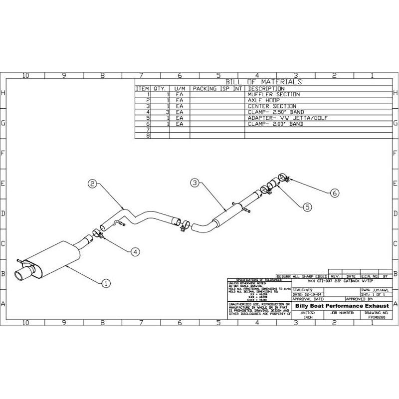 2003 Vw Jetta Exhaust System Diagram - Atkinsjewelry