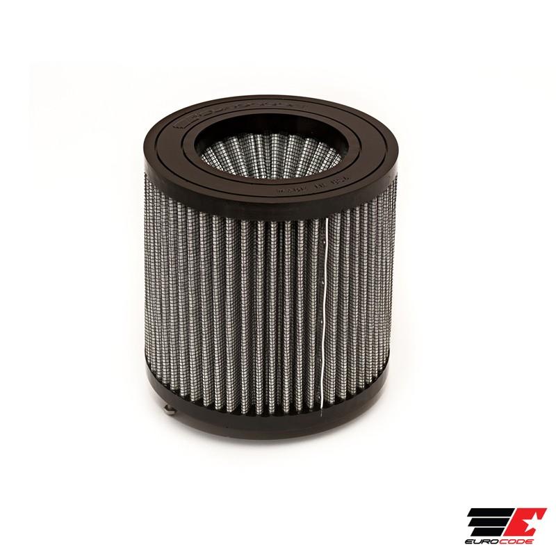 "Dual-Cone Carbon Air Filter 3.0/"" inlet black"
