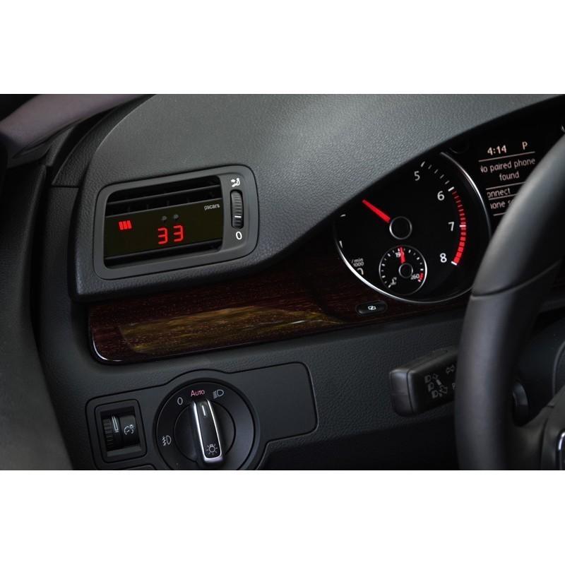 Vw Passat V6 Supercharger Kit: Vent Boost Gauge (OBD2 MULTI