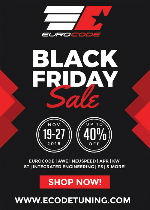 Eurocode Tuning Black Friday Specials** UP TO 40% OFF!!