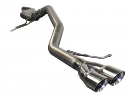 AFE Power Large Bore-HD 2-1/2in 409 Stainless Steel Cat-Back Exhaust System