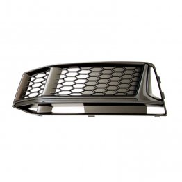 Black Optics Fog Light Grill (left) - B9 (8W) Chassis Audi S4 (for cars without ACC) (with additional cooling opening)