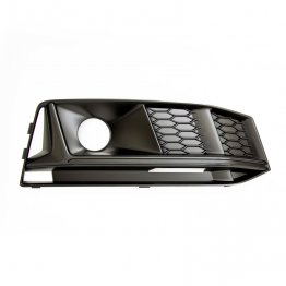 Black Optics Fog Light Grill (right) - B9 (8W) Chassis Audi S4 (for cars with ACC)