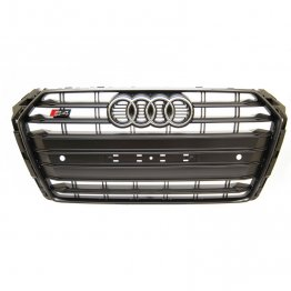 Black Optics Grill Assembly - B9 (8W) Chassis Audi S4