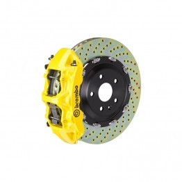 Brembo GT Front Big Brake Kit - 2 Piece Drilled Rotors (380x34)