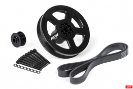 APR Supercharger Dual Pulley Upgrade Kit - Press On