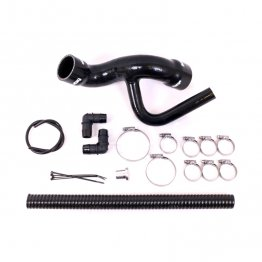 Cold Side Relocation Kit for Audi and SEAT 1.8T 210 225hp Engines - Black