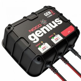 NOCO - Genius GEN2  2-Bank 20A On-Board Battery Charger