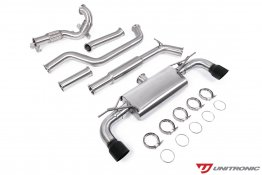 Unitronic Turbo-Back Exhaust - Black Tips - MK7.5 GTI