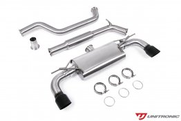 Unitronic Cat-Back Exhaust - Black Tips - MK7.5 GTI