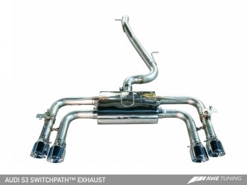 AWE SwitchPath™ Exhaust Conversion Kit for Audi 8V S3