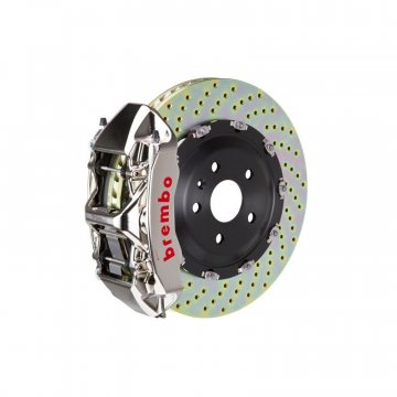 Brembo GT-R Front Big Brake Kit - 2 Piece Cross Drilled Rotors (380x34)