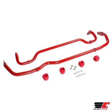 Eurocode ÜSS Adjustable Stabilizer Bar Set MQB FWD Chassis | F - 28.6mm / R - 25.4mm