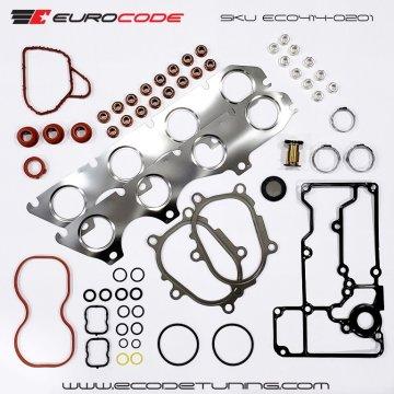 EuroCode C7/C7.5/D4 4.0TFSI TURBO INSTALL GASKET SET & TSB FAILURE Parts S6/S7/RS6/RS7 A8/S8