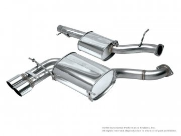 NEUSPEED Stainless Steel Cat-Back Exhaust - 8P