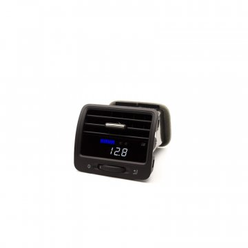 P3 Cars VW MK5 R32 - Vent Boost Gauge (Analog Boost/Battery)