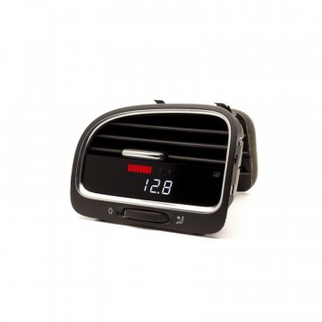 P3 Cars VW MK6 TDI - Vent Boost Gauge (Analog Boost/Battery)