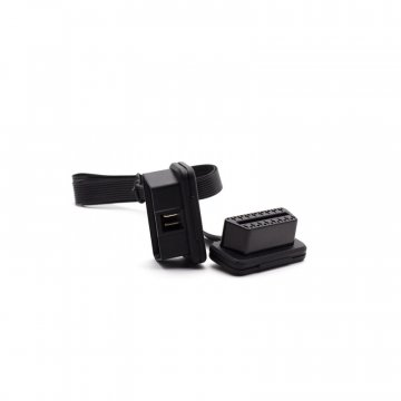 P3Cars Low Profile OBD2 Extension - Flat - 2ft