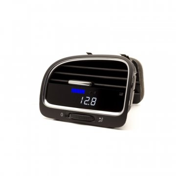 P3 Cars VW MK6 Golf R - Vent Boost Gauge (Analog Boost/Battery)