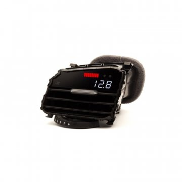 P3 Cars VW MK7 GTI - Vent Boost Gauge (Analog Boost/Battery)