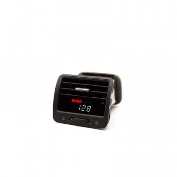 P3 Cars VW MK5 TDI - Vent Boost Gauge (Analog Boost/Battery)