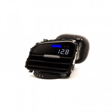 P3 Cars VW MK7 Golf R - Vent Boost Gauge (Analog Boost/Battery)