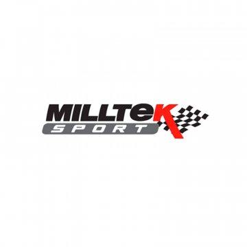 Milltek Sport Audi B8 S5 4.2L Cat-Back Exhaust System - ValveSonic - Quad GT80 Cerakote Black Tips